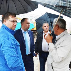 Ход строительства нового корпуса Гимназии 36 города Иваново проверили в рамках инспекционного рейда
