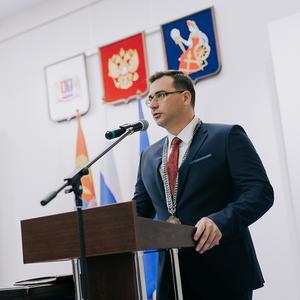 Избранный Глава города Иванова Владимир Шарыпов вступил в должность