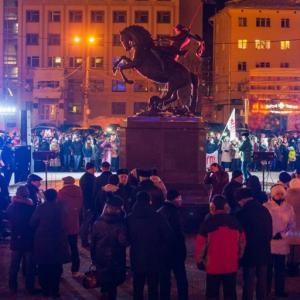 Партийцы приняли участие в праздничной акции, посвященной 4-й годовщине возвращения полуострова Крым в состав России